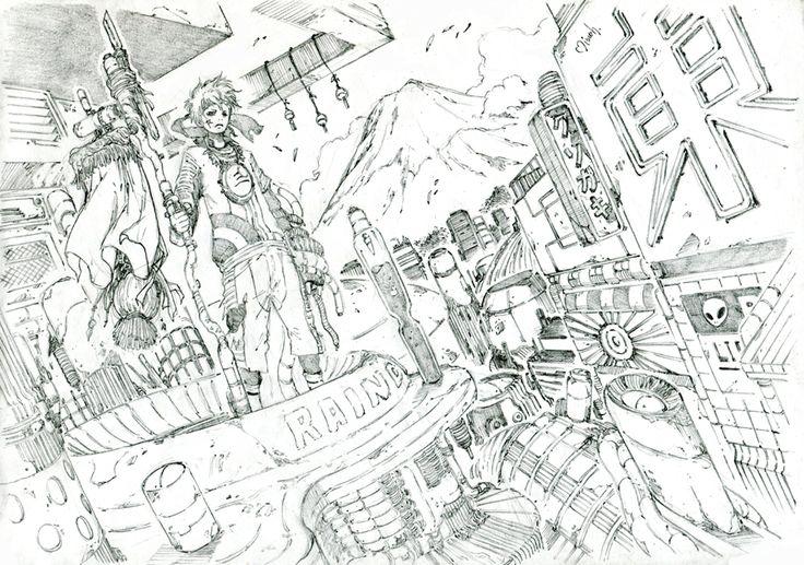 「しろくろ4」/「みっつばー」の漫画 [pixiv]