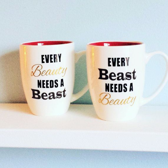 Couples Mugs Large Coffee Mugs His and by HandcraftedHearts4U