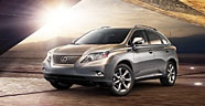 Lexus RX: this is not a top vehicle.  You will never see me driving this! They are way to common, and talk about a yawn!