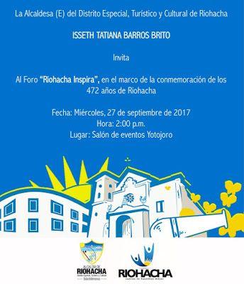 Riohacha Inspira: Foro organizado por la Alcaldía Distrital