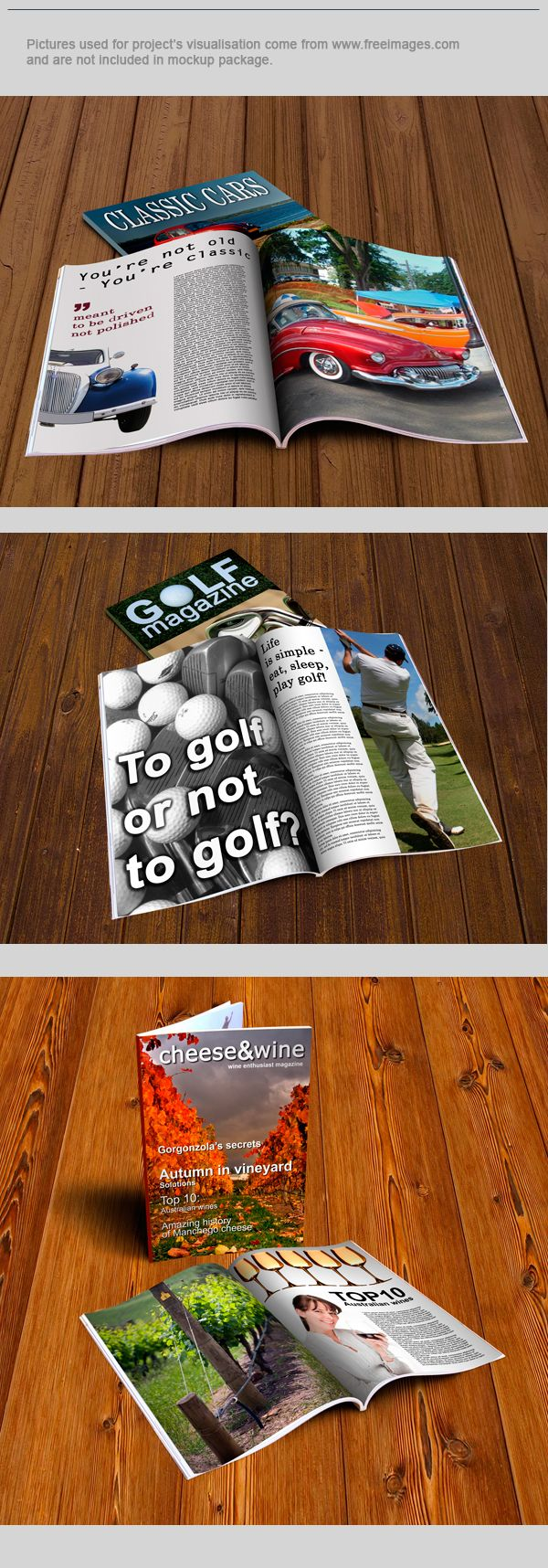 Best Magazine Mockups Images On   Print Layout