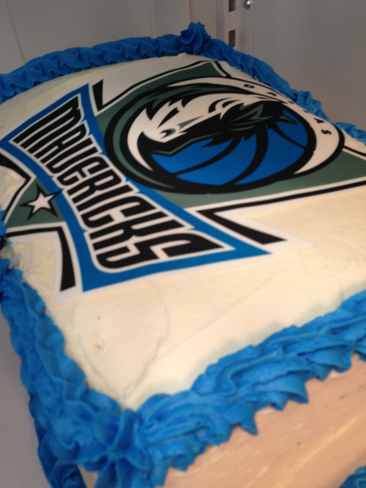 Pin Dallas Mavericks Birthday Cake Cake On Pinterest