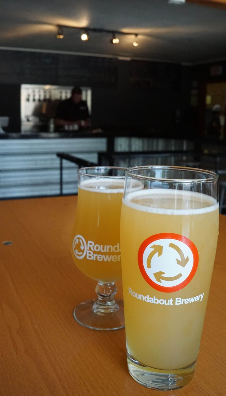 Roundabout Brewery in Lawrenceville- perfect for a mid-afternoon beer!
