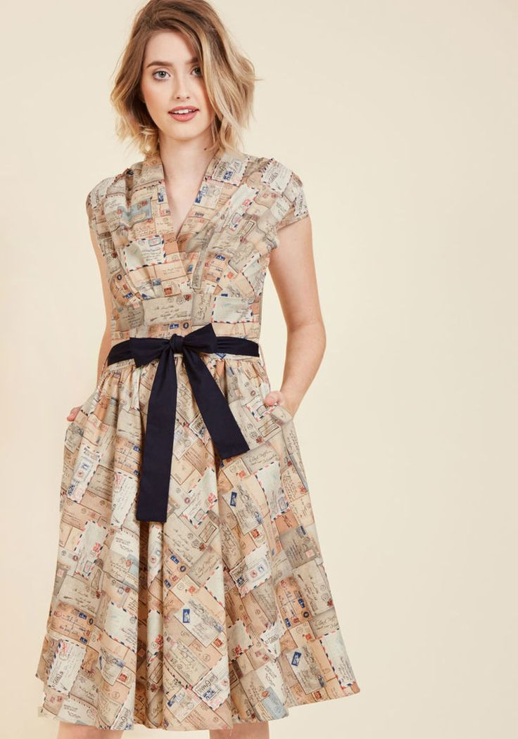 The Sooner the Letter A-Line Dress