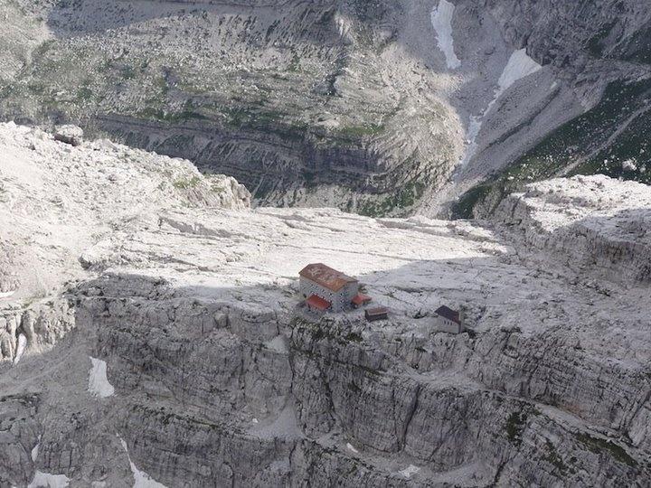 """Rifugio Pedrotti""  Dolomites - Trentino"