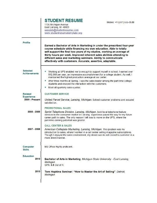 Student First Resumes Http Grey Btsa Co Student First Resumes Utm Source Contentstudio Utm Med Job Resume Format Job Resume Template Student Resume Template