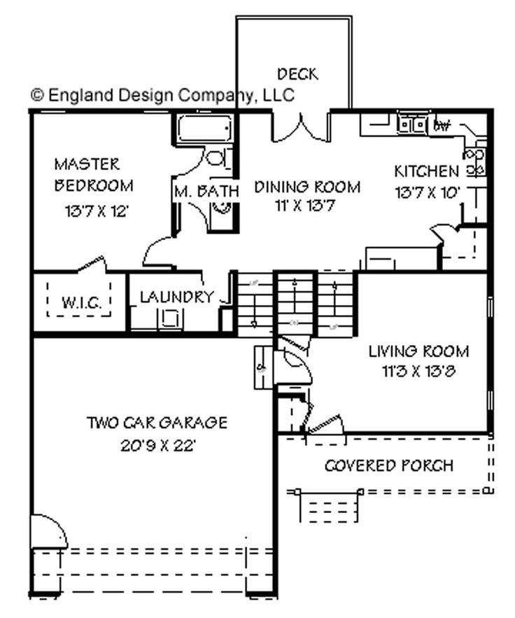 Garage Under Split Level Plan 69133am: Best 25+ Split Level House Plans Ideas On Pinterest