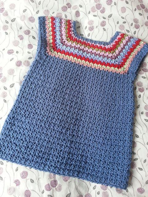 Ravelry: StripeySquirrel's Scavenger Hunt #3 My interpretation of a gorgeous crochet dress pattern by Sarah Lora