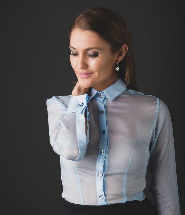 Monte Carlo Dream Women's Business Shirt | Designed by The Shirt Muse | Australian Made