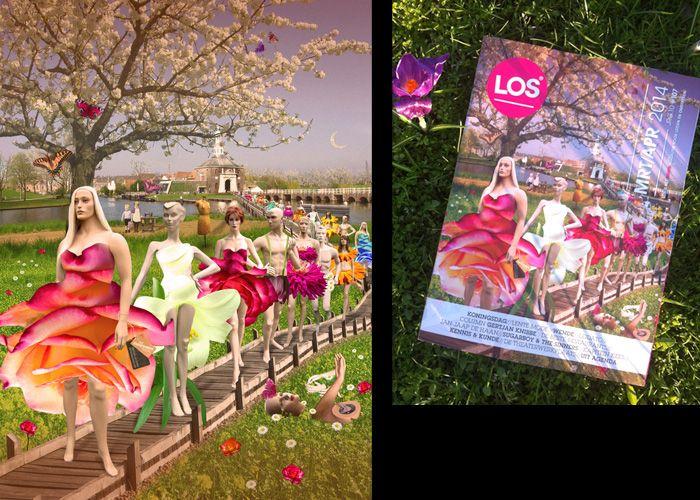cover for LOS magazine, spring & fashion