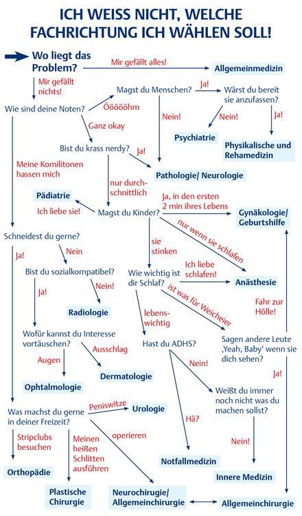 Hilfe! Welche Fachrichtung ist die richtige für mich? – Arzt im Beruf – Via medici – Franziska Kümmerling