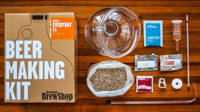 Dad will definitely approve of this beer making kit.