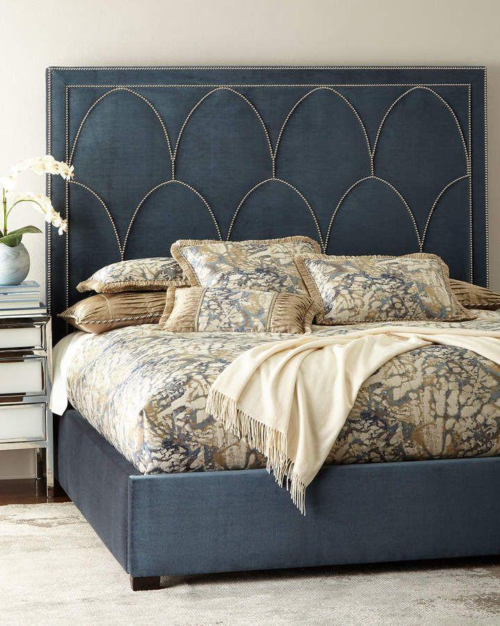 Bernhardt Regan Upholstered King Bed King Upholstered Bed Queen