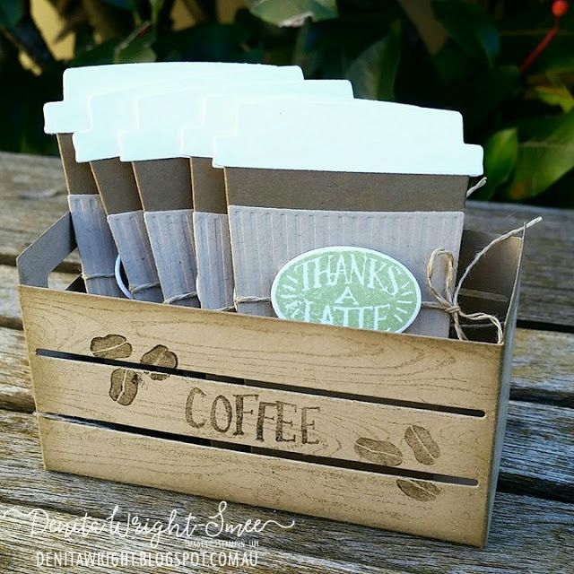 Denita Wright - Independent Stampin' Up! Demonstrator: Coffee Break Suite - Annual Catalogue 2017-2018