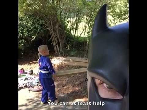 Batdad Karate Viral Video   POPSUGAR Moms
