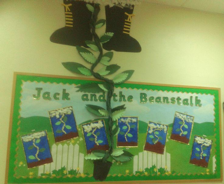 Jack and the Beanstalk classroom display photo - SparkleBox