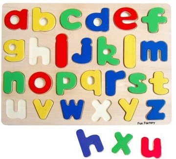 Fun Factory - Alphabet Puzzle Lower Case by Fun Factory