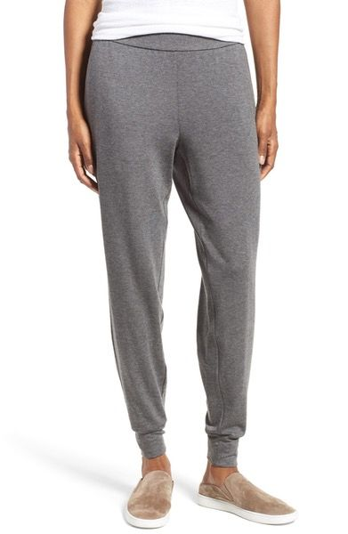 Main Image - Eileen Fisher Stretch Tencel® Slouchy Pants (Regular & Petite)