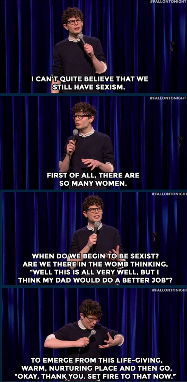 On sexism: | 24 Times Simon Amstell Was Too True And Too Funny