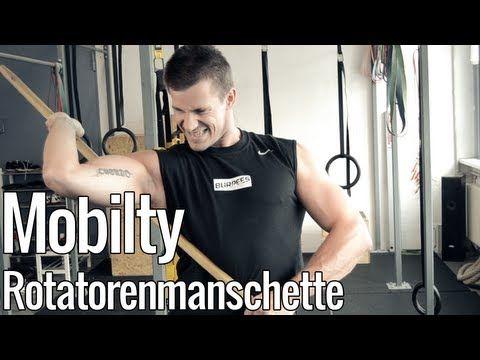 Schulter und BWS Mobi mit dem Besenstil - YouTube