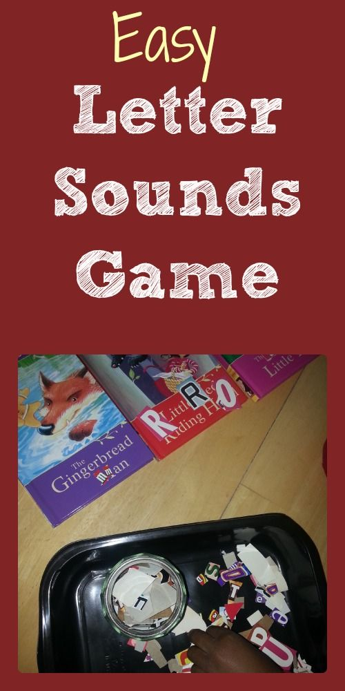 Letter sounds and Letter recognition game