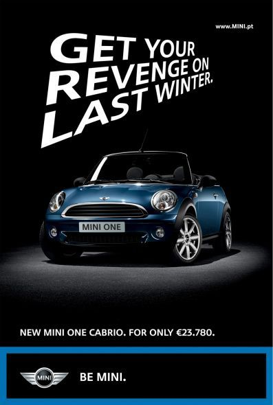 Get your revenge on last winter. Test drive the MINI Cabrio at MINI Downtown http://minidowntown.ca/new-vehicles/mini-convertible/cooper-classic-convertible