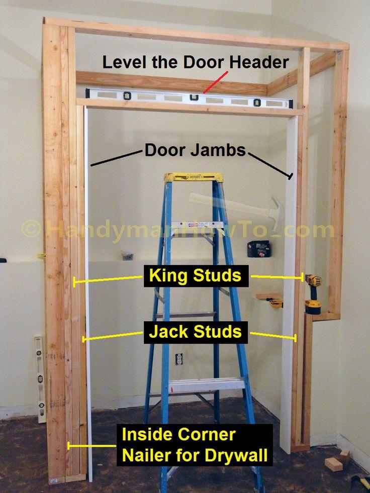 Basement Closet Door Rough Opening 2x4 Framing Building