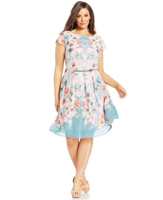 Vestidos casuales para gorditas | Ropa para mujeres gorditas