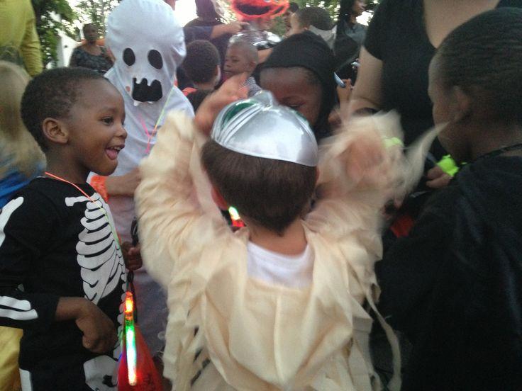 Halloween celebration at Montessori-on-a-Hill school, Kensington, Johannesburg.  Photo by Rita Doherty.