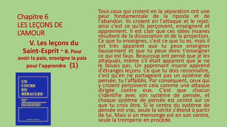 V. Les leçons du Saint-Esprit - B by Pierrot Caron via slideshare