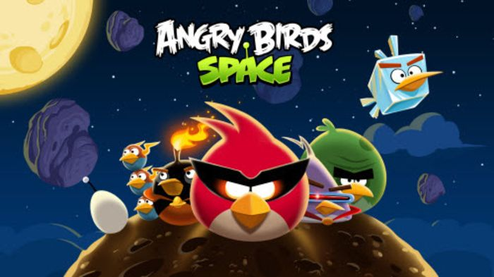 "Rovio's ""Angry Birds Space"" marks a monumental achievement in virtual physics. As a sequel to the original smash hits, ""Angry Birds"" and ""Angry Birds Rio,"" this comprehensive puzzle game is the favorite title of an entire generation.   #action #adventure #Angry Birds #challenging #online game"