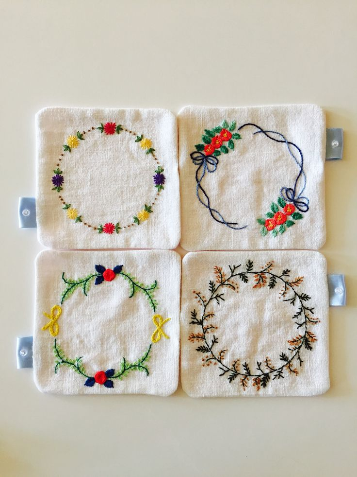 Hand embroidered byNina
