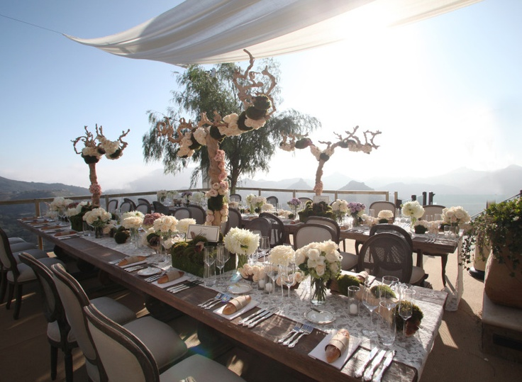 26 best optiones images on pinterest wedding reception for Malibu rocky oaks estate vineyards wedding cost