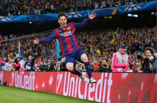 sparksnail: Messi Magic:Barcelona beat Bayern munich 3-0