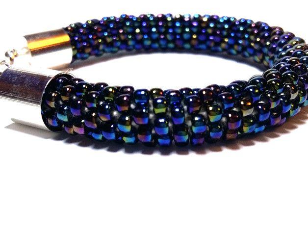 Witam na aukcji _**Lapis Lazuli PRACOWNIA ARTYSTYCZNA**_     PRZEDMIOTEM AUKCJI JEST BRANSOLETKA Z KILKUSET DROBNYCH KORALIKÓW   Biżuterie tworzę z największą pasją, dzięki czemu staje się...
