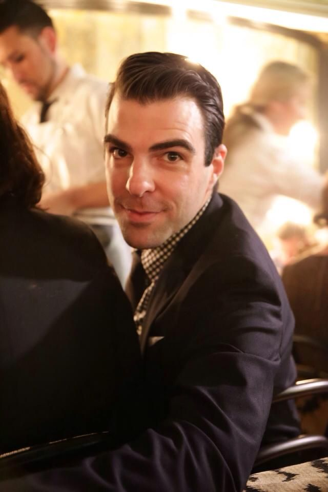 Zachary Quinto Food Network