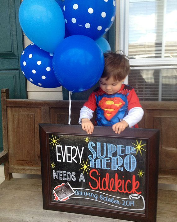 Hey, I found this really awesome Etsy listing at https://www.etsy.com/listing/184171631/super-hero-pregnancy-announcement