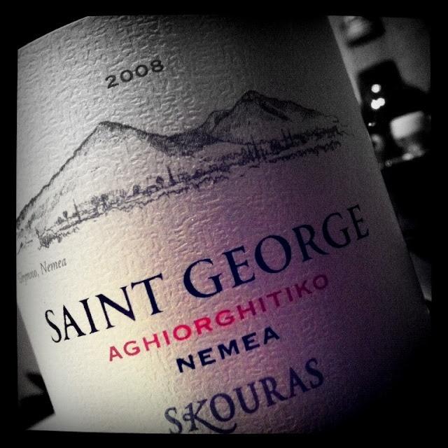 Cuvée Corner Wine Blog: Greek Wines Uncorked: 2008 Skouras St George Nemea