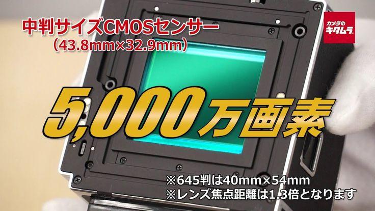 ハッセルブラッド CFV-50c デジタルバック (カメラのキタムラ動画_HASSELBLAD)
