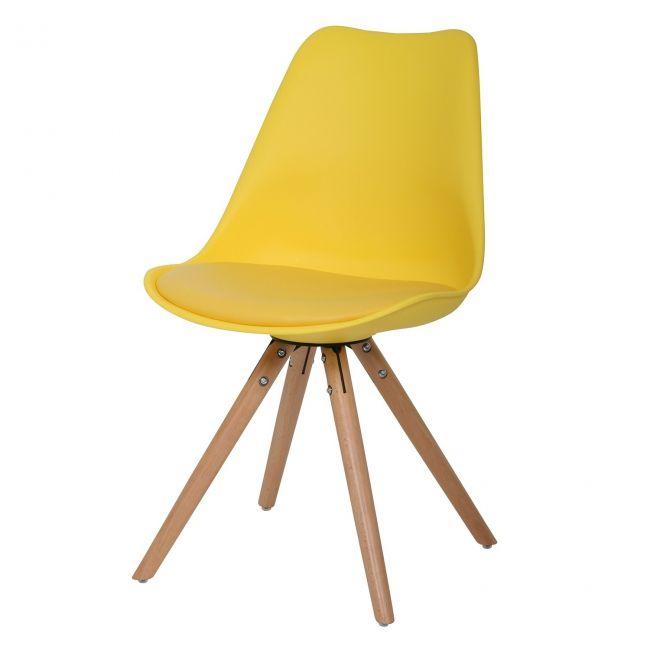 25 beste idee n over eetkamerstoel kussens op pinterest keuken stoelkussens en stoelkussens - Houten stoel eetkamer ...