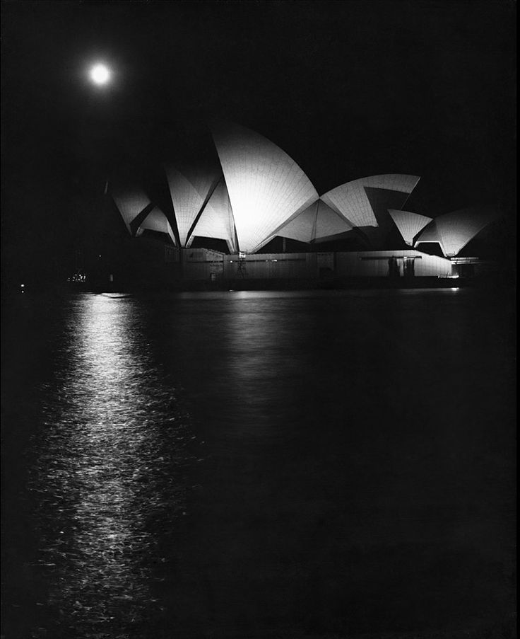 the Sydney Opera House by Max Dupain ...