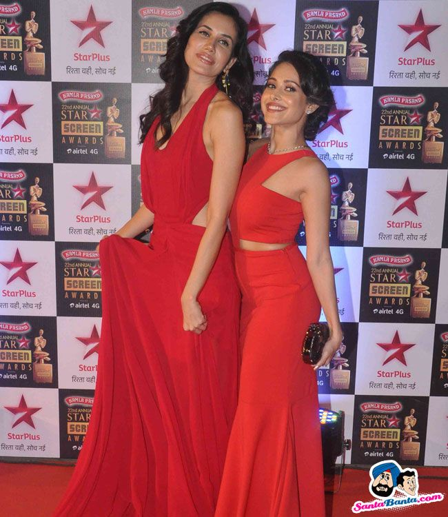Star Screen Awards 2015 -- Sonali Sehgal and Nushrat Bharucha Picture # 328047