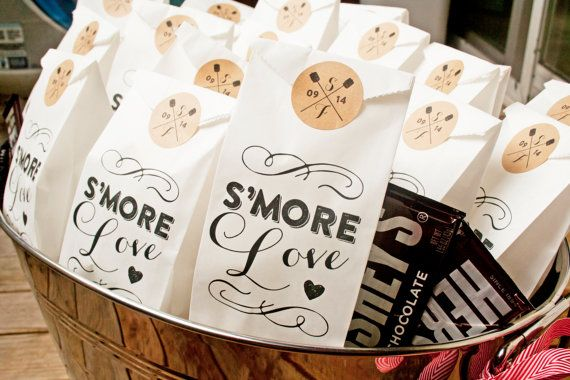 Hey, I found this really awesome Etsy listing at https://www.etsy.com/listing/188216279/smores-wedding-favor-bags-smore-love-25