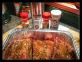 Beef ribs using an Argentina Steak rub.. - Big Green Egg - EGGhead Forum - The Ultimate Cooking Experience...