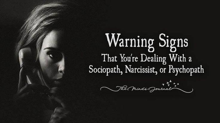 Sociopath dating a narcissist