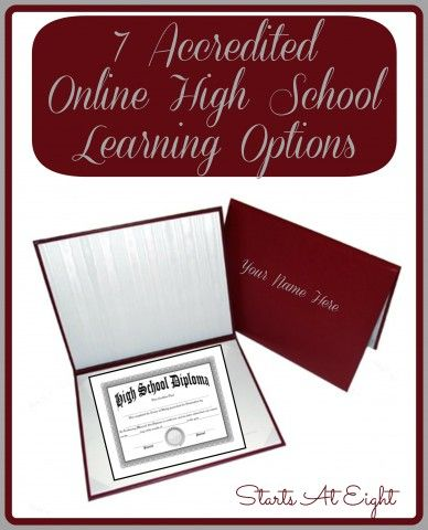 7 Accredited Online High School Learning Options - StartsAtEight