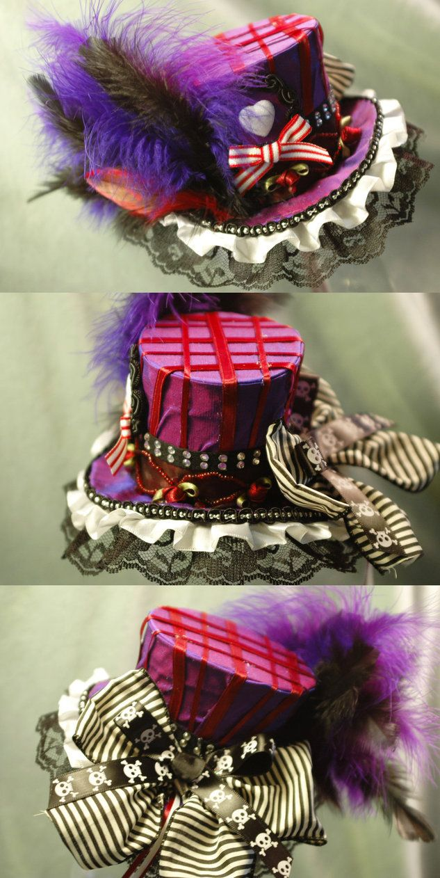 Dark Circus mini top hats!!!