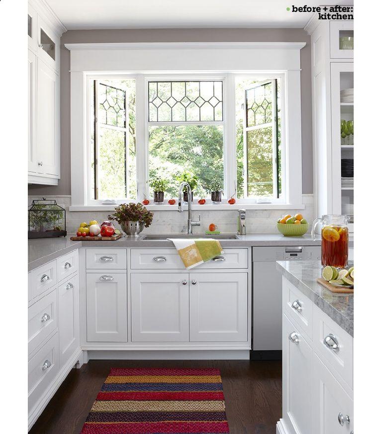 11 best kitchen box window images on pinterest garden windows kitchen bay windows and kitchen on kitchen cabinets around window id=59361