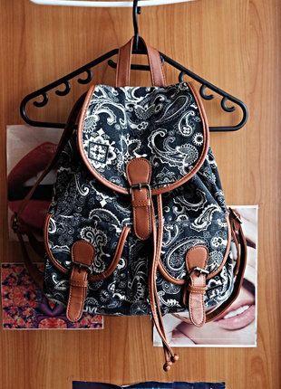 Kupuj mé předměty na #vinted http://www.vinted.cz/damske-tasky-a-batohy/batohy/14357506-vintage-batoh-se-zajimavym-vzorem