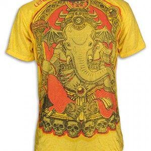 WEED BY SURE VINTAGE MEN´S T-SHIRT #GANESHA #ELEPHANT GOD #GOA #PSY #HINDU